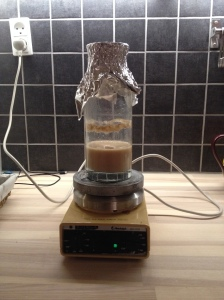 Yeast in suspension